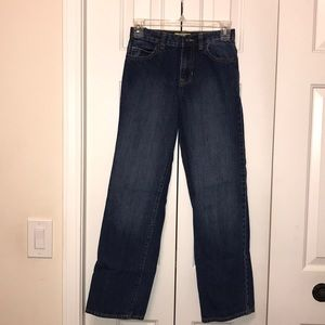 Boy's Old Navy Slim Straight Jeans Sz 14 Like New